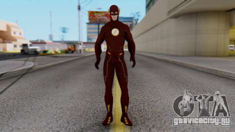 The Flash White Logo для GTA San Andreas второй скриншот