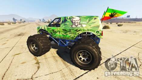 Vapid The Liberator Cannabis для GTA 5