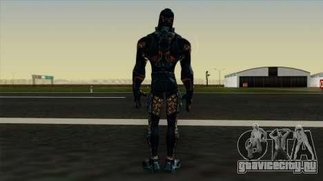Ant-Man Orange Jacket для GTA San Andreas третий скриншот