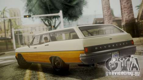 GTA 5 Dundreary Regina IVF для GTA San Andreas вид сзади слева