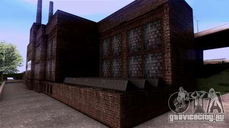 HQ Textures San Fierro Solarin Industries для GTA San Andreas пятый скриншот