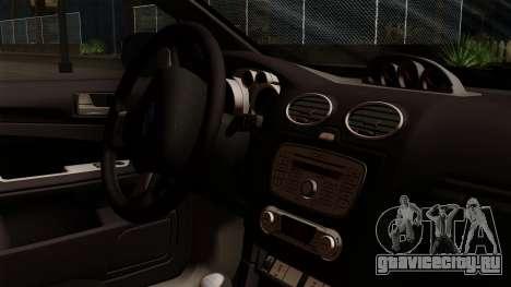 Ford Focus RS для GTA San Andreas вид справа
