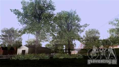 Текстуры деревьев из MGR для GTA San Andreas