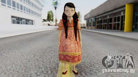 Cereza Bayonetta (child) для GTA San Andreas второй скриншот