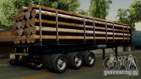 Trailer Log v2 для GTA San Andreas вид слева