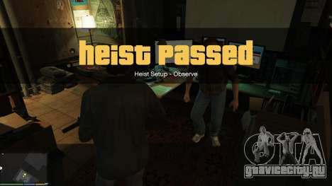 Story Mode Heists [.NET] 0.1.4 для GTA 5