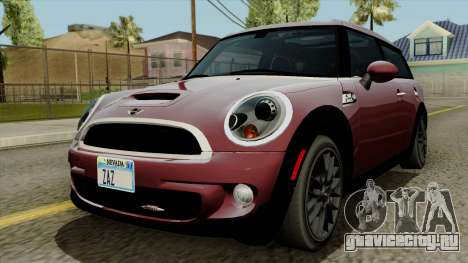 Mini Cooper Batik PaintJob для GTA San Andreas
