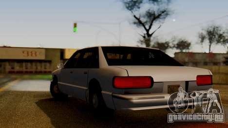 Declasse Premier для GTA San Andreas вид слева