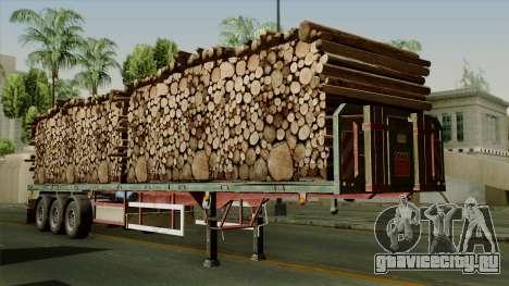 Trailer Cargos ETS2 New v2 для GTA San Andreas
