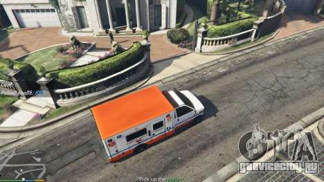 Миссии скорой помощи v.1.3 для GTA 5 второй скриншот
