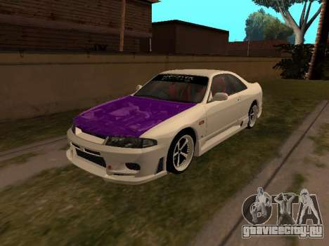 Nissan Skyline R33 Drift Monster Energy JDM для GTA San Andreas