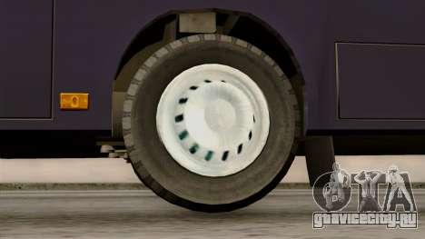 МАЗ 226.065 для GTA San Andreas вид сзади слева