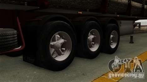 Trailer Fliegl v1 для GTA San Andreas вид сзади слева
