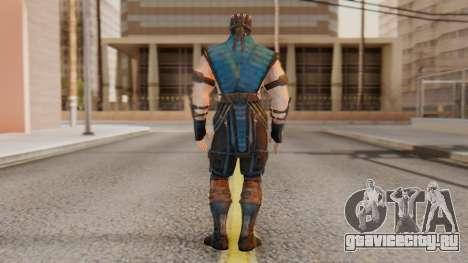 [MKX] Sub-Zero Unmasked для GTA San Andreas третий скриншот