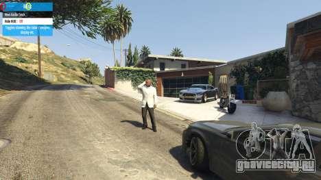 QF Mod Menu 0.3 для GTA 5 пятый скриншот