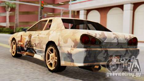 Elegy Contract Wars Vinyl для GTA San Andreas вид слева