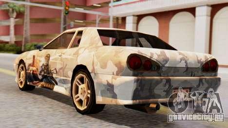 Elegy Contract Wars Vinyl для GTA San Andreas вид слева