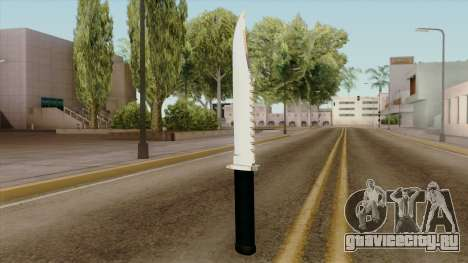 Original HD Knife для GTA San Andreas второй скриншот