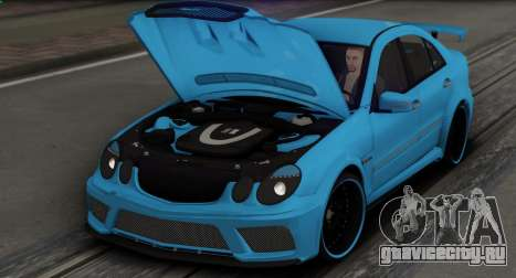 Mercedes-Benz E63 Qart Tuning для GTA San Andreas колёса