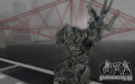 Megatron TF3 для GTA San Andreas