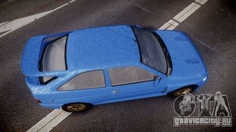 Ford Escort RS Cosworth для GTA 4 вид справа