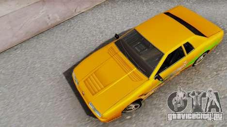 Elegy Supra PJ для GTA San Andreas вид сзади