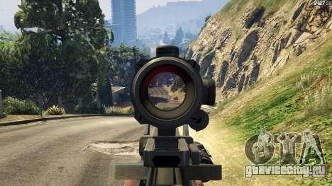 Battlefield 4 Famas для GTA 5 шестой скриншот