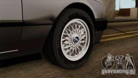 BMW 325i для GTA San Andreas вид сзади слева