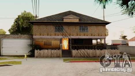 New Interior for CJs House для GTA San Andreas третий скриншот