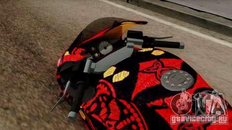 Bati Batik для GTA San Andreas вид сзади