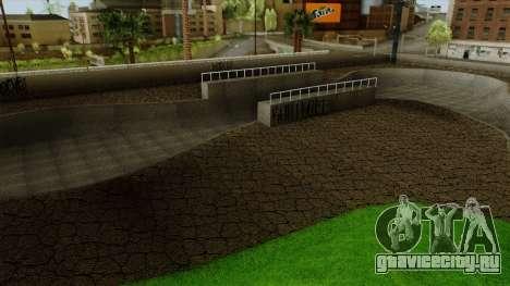 HD Скейт парк для GTA San Andreas четвёртый скриншот