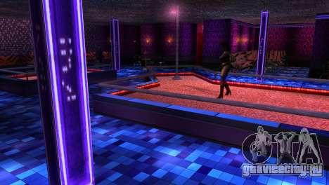 Ретекстур интерьера стрип-клубов для GTA San Andreas третий скриншот