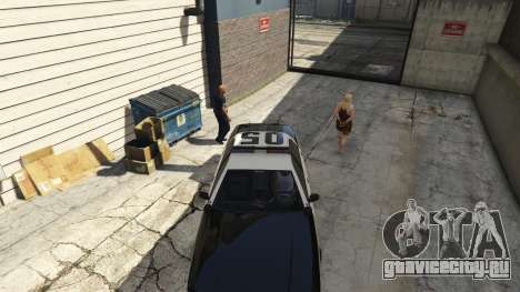 Arrest Peds V (Police mech and cuffs) для GTA 5 пятый скриншот