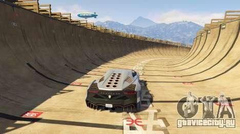 Maze Bank Mega Spiral Ramp для GTA 5 пятый скриншот