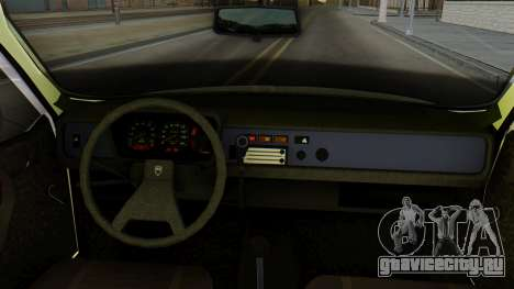 Dacia 1310 Militia для GTA San Andreas вид сзади слева