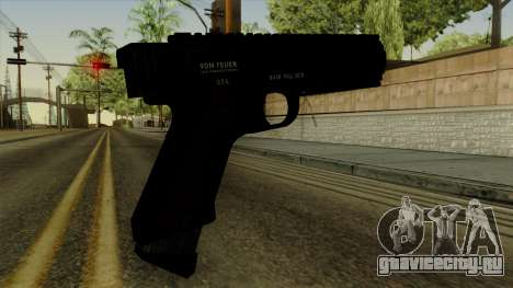 AP Pistol для GTA San Andreas второй скриншот