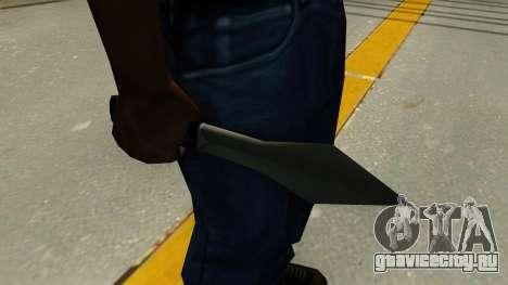Метательный нож для GTA San Andreas второй скриншот