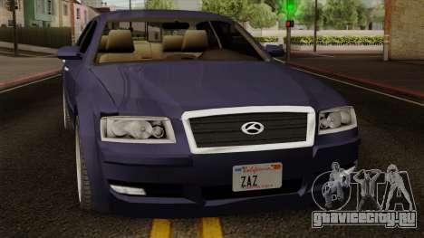 Sungnyemun Moirai IVF для GTA San Andreas вид справа