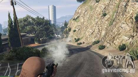Карабин Bulldog для GTA 5 третий скриншот