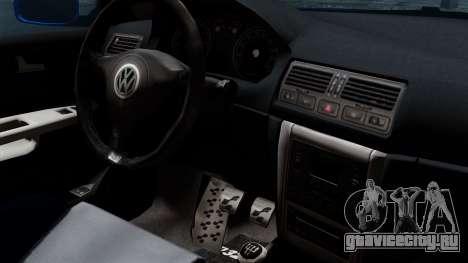 Volkswagen Golf Mk4 Stance для GTA San Andreas вид справа