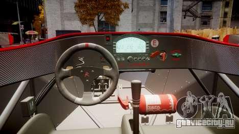 Radical SR8 RX 2011 [16] для GTA 4 вид сзади