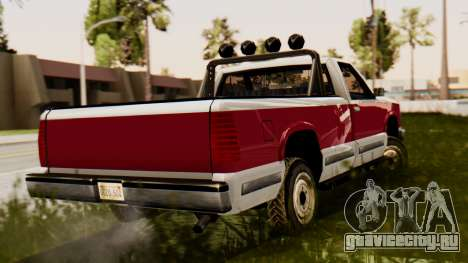 Сhevrolet Silverado SA Style для GTA San Andreas вид слева