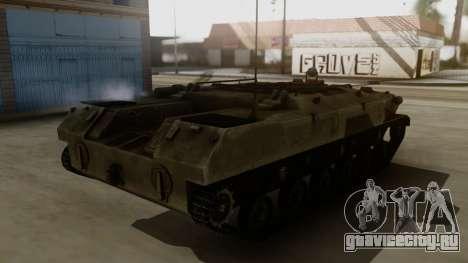 BTR-D для GTA San Andreas вид сзади слева