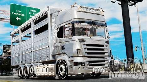 Scania R580 для GTA 4