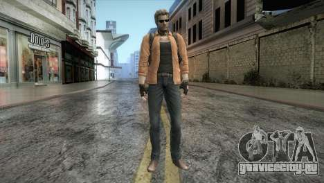 New Jhon Albert Wesker from Resident Evil для GTA San Andreas второй скриншот