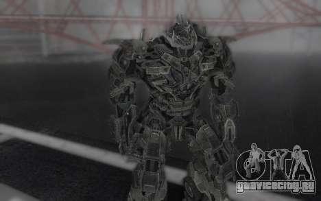 Megatron TF3 для GTA San Andreas третий скриншот