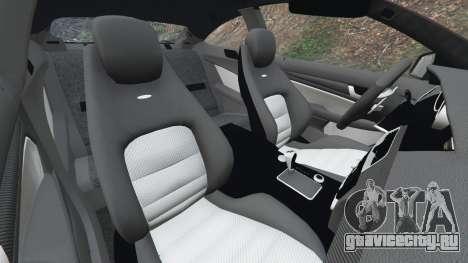 Mercedes-Benz C63 AMG 2012 для GTA 5 колесо и покрышка