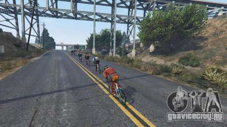 Downhill Racing для GTA 5 четвертый скриншот
