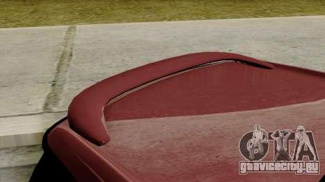 Mini Cooper Batik PaintJob для GTA San Andreas вид сзади