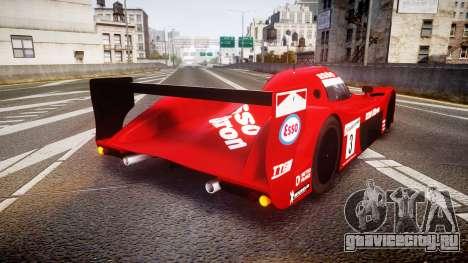 Toyota GT-One TS020 Le Mans 1999 для GTA 4 вид сзади слева